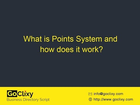 GoClixy - What is Points System and how does it work?
