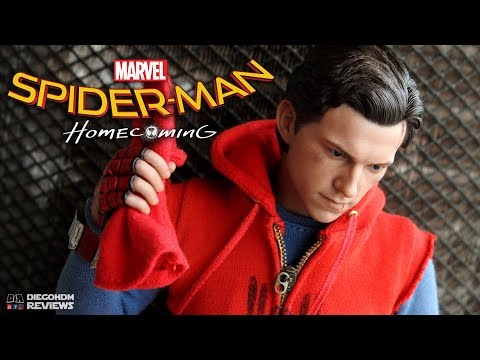 Hot Toys SPIDER-MAN Homecoming Homemade Suit Review BR / DiegoHDM