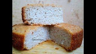 Mkate wa sinia   Mkate wa Kumimina   Rice and Coconut Cake in Swahili   Jikoni Magic