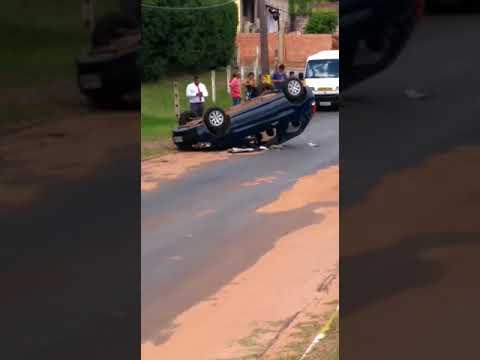 Acidente na Avenida Espanha em Avaré, SP
