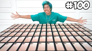 Customizing 100 iPhones, Then Giving Them Away!! 📱📞 - (Giveaway) | ZHC