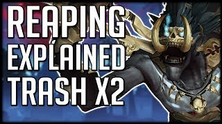 DOUBLE THE TRASH - REAPING Affix Finally Explained for Mythic+   WoW BFA News