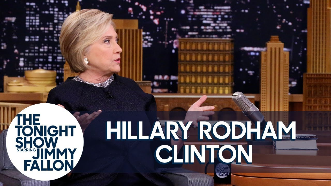 Hillary Clinton on Her Book What Happened and Using Twitter to Get Trump's Attention thumbnail