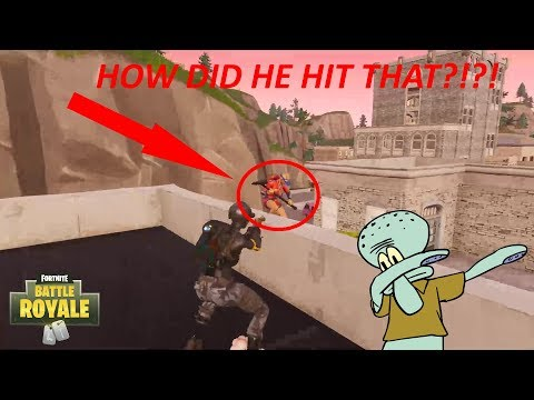THE SICKEST REVOLVER SHOT EVER IN FORTNITE!