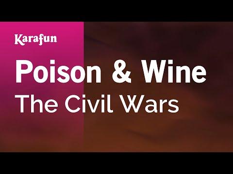 Poison & Wine - The Civil Wars | Karaoke Version | KaraFun