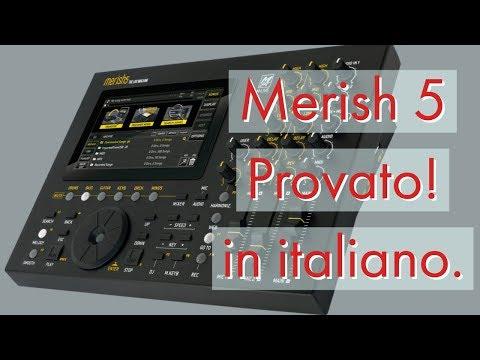 Prova e recensione del MERISH 5: Midi Player, Workstation, Studio per home recording