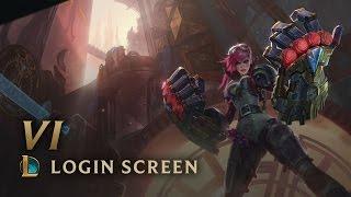Vi, the Piltover Enforcer (ft. Nicki Taylor) | Login Screen - League of Legends