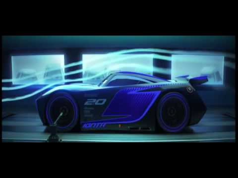 "Cars 3 - The ""rookie Sensation"" Jackson Storm"