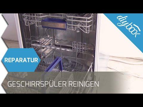 Spülmaschine spült nicht sauber: Siemens Geschirrspüler reinigen