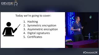 Cryptography 101 for Java developers by Michel Schudel