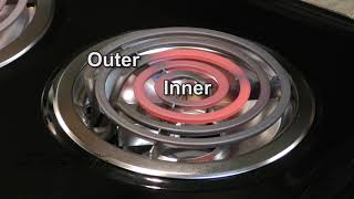 New UL Approved Electric Coil Burner Explained for your cook top