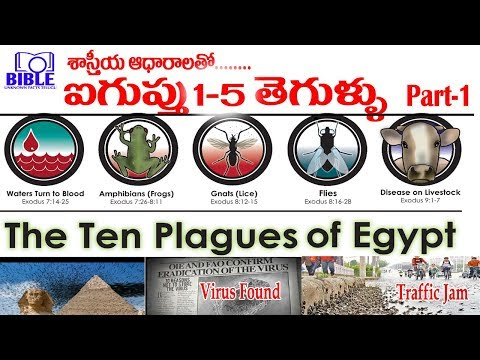 ▷Egypt 10 Plagues Explained by Science Part-2