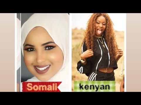 Somali girls Vs Kenyan Girls  (who is the best in tik tok ) tik tok challenges