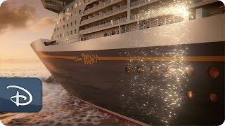Disney Wish: First Look at the Next Disney Cruise Line Ship
