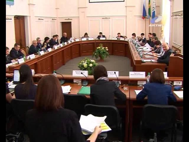 Состоялось заседание Думы города Ангарска