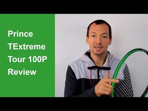 Prince TExtreme Tour 100P tennis racquet review