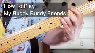 'My Buddy Buddy Friends' Dr Feelgood Guitar Lesson