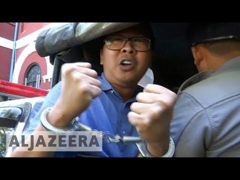 EU urges Myanmar to release Reuters journalists ??