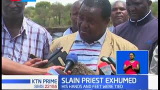 Catholic priest Michael Kyengo killed and body buried