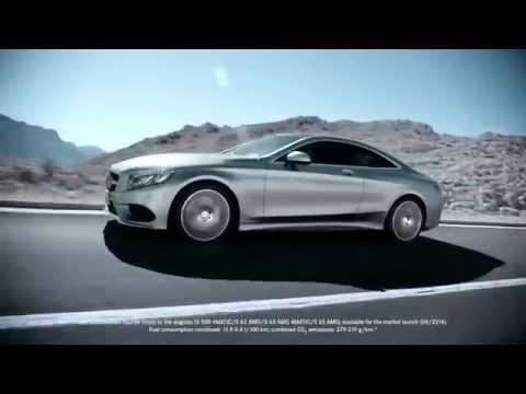 Mercedes Benz  S Class Coupe Купе класса A - рекламное видео 4