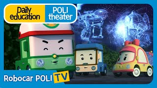 Daily education   Poli theater   Lightning is scary!