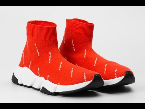 78a1d5abd275 BALENCIAGA SPEED TRAINER UNBOXING + REALEST ON FOOT ON YOUTUBE ...