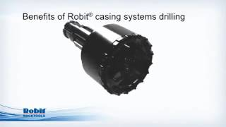 Robit rocktools Eccentric VS Concentric casing system