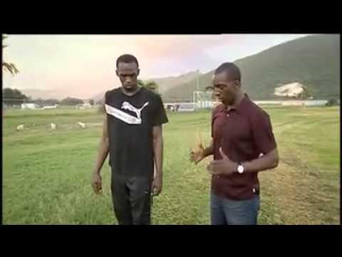Michael Johnson interviews Usain Bolt