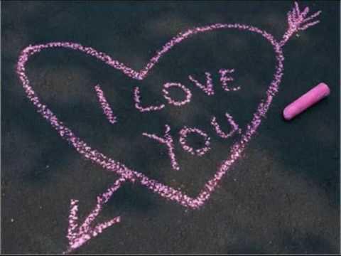 """Нарисую, мелом напишу: """"I love you"""""""