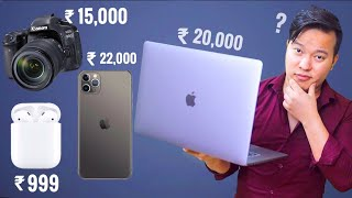 यहाँ मिलता है ₹20,000 में Apple Macbook Pro , DSLR , Iphone 11 Pro Max ?? - Download this Video in MP3, M4A, WEBM, MP4, 3GP