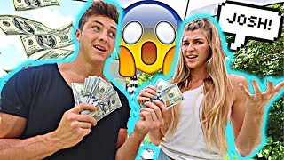 Paying My Girlfriend $100 Every Time she says my NAME!