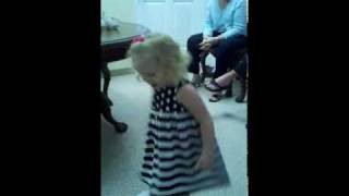 2 Year Old Performs LEAN ON ME for family
