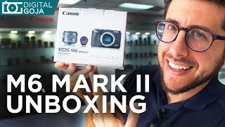 Canon M6 Mark ii Unboxing