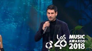 Déjala Que Baile, Mejor  Nacional Los40 Music Awards