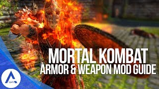 Mortal Kombat Mod - Weapon & Armor Guide - Skyrim Special Edition (PS4/XB1/PC)