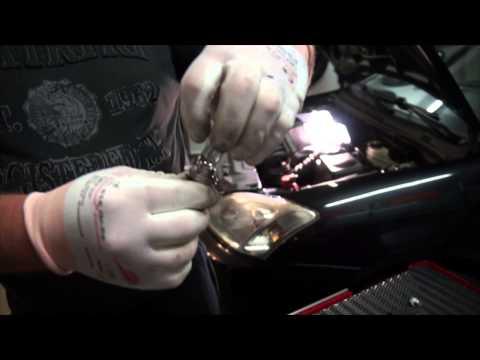 Glühlampe wechseln Anleitung in HD H7 , Scheinwerfer Birne wechseln Toyota Corolla