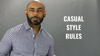 Top 6 Mens Casual Style Rules