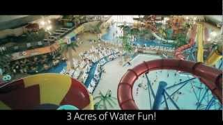 preview picture of video 'Fallsview Indoor Waterpark - Falls Avenue Resort - Niagara Falls, Ontario'