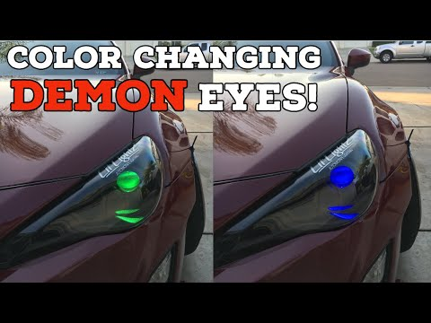 HOW TO INSTALL COLOR-CHANGING DEMON EYES!