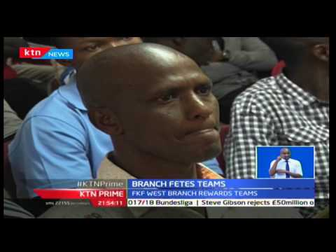 KTN Prime: Football Kenya federation Nairobi west branch honored its 2016 top performers
