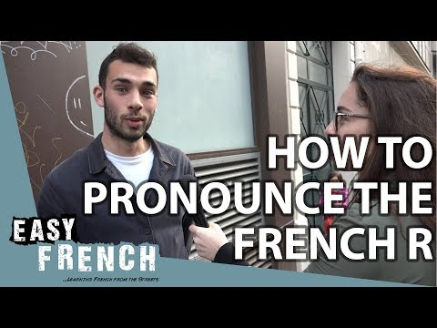 """How to pronounce the French """"R""""? 