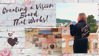 Creating a Vision Board that REALLY works!!