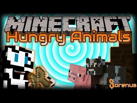 Minecraft | HUNGRY ANIMALS MOD | Sorenus Mods 185