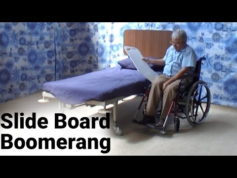 Slide Board Boomerang Flat Bottom