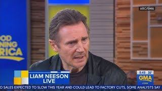 Liam Neeson Accused Of Racism After 'revenge' Story