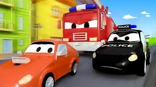 หน่วยลาดตระเวนรถ 🚒 เซอร์ไพรส์ ปาร์ตี้วันเกิดของแฟรงค์ 🚨 การ์ตูนรถตำรวจและรถดับเพลิงสำหรับเด็ก