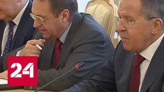 Москва готова к политическому диалогу с Катаром