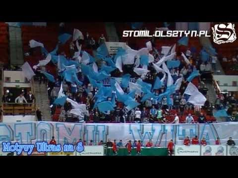 Motywy ultras na Stomil Cup