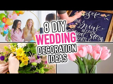 8 DIY Wedding Decoration Ideas – HGTV Handmade
