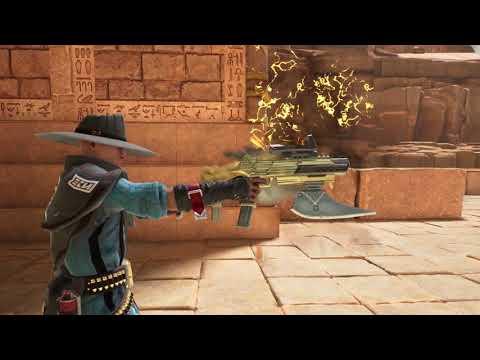 Breach Class Reveal - The Gunslinger